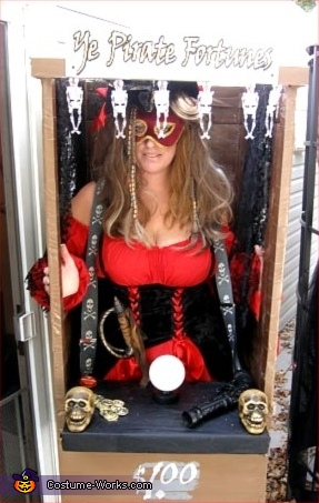 Pirate Fortune Teller Costume