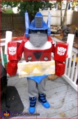 Transformers Movie Optimus Prime Costume