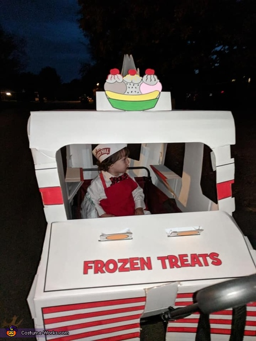 Bodie the Ice Cream Man Homemade Costume