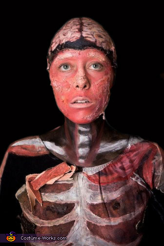 Body Worlds Costume Last Minute Costume Ideas Photo 2 4