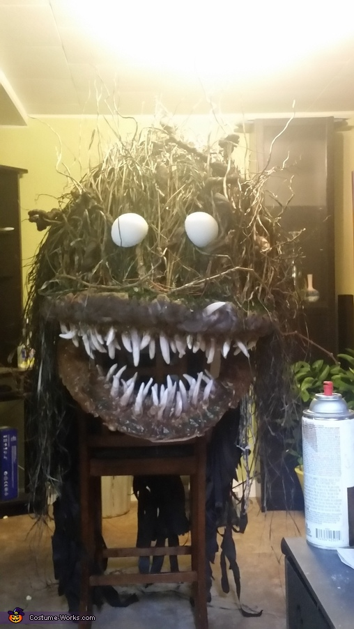 Almost done!!!, Bog Swamp Monster Costume