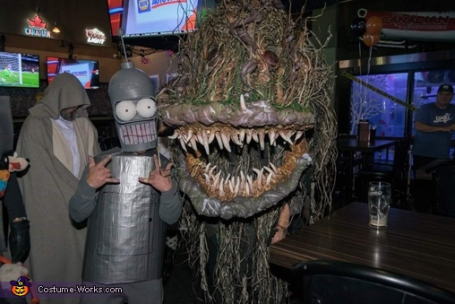 Bog Swamp Monster Costume