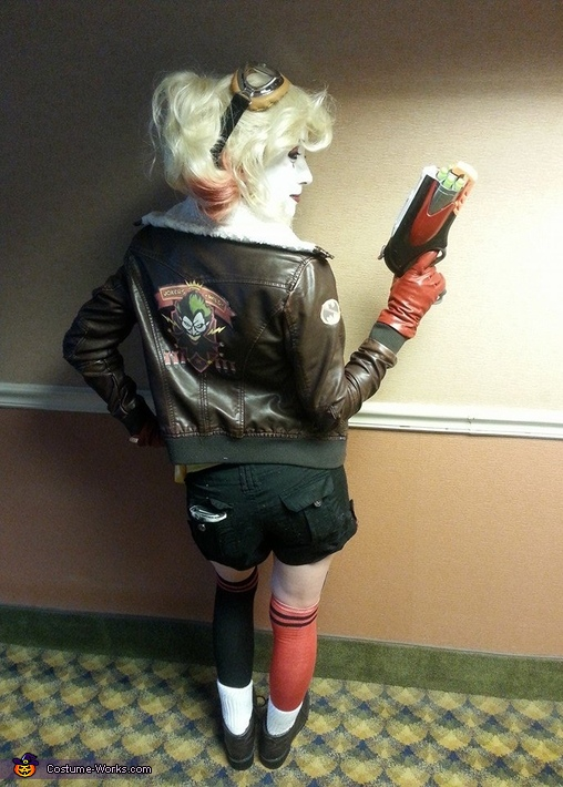 Back Patch, Bombshell Harley Quinn Costume