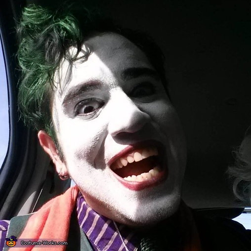 Crazy is as crazy does, Bombshell Harley Quinn and Fighter Pilot Joker Costume