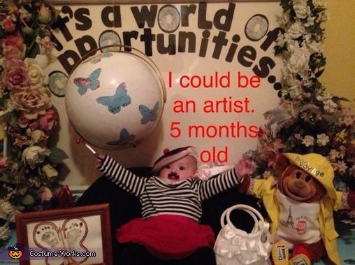 Bon Voyage! Baby Costume