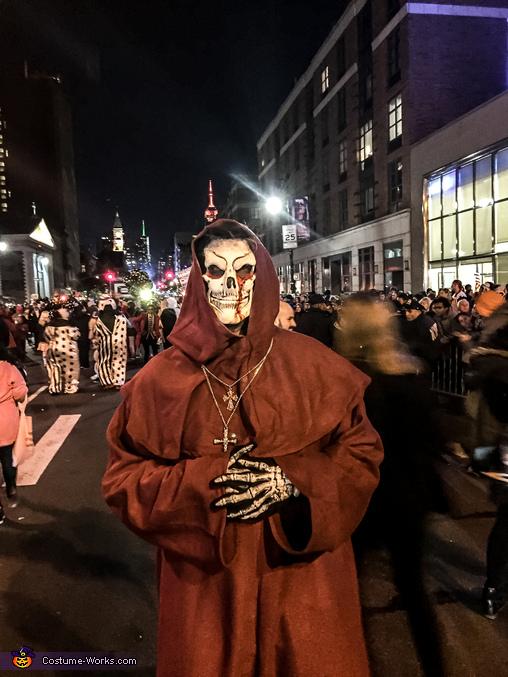 Bones Monk Costume