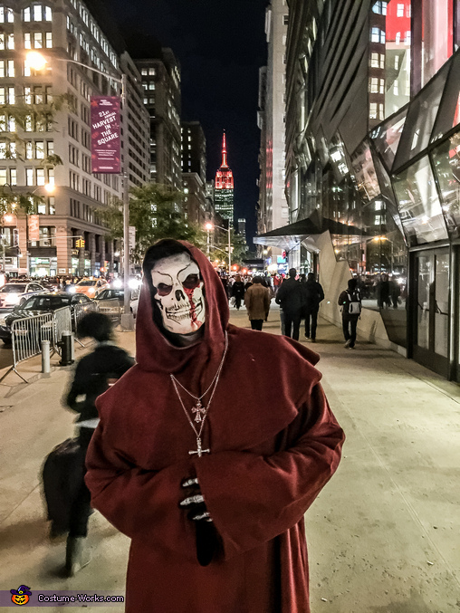 Empire State Building Anyone, Bones Monk Costume