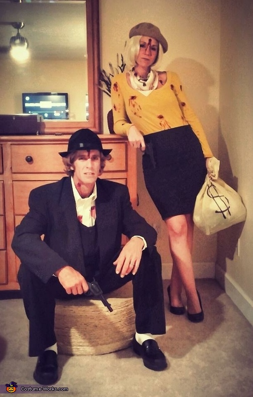 Molto Bonnie and Clyde Couple Costumes VB94