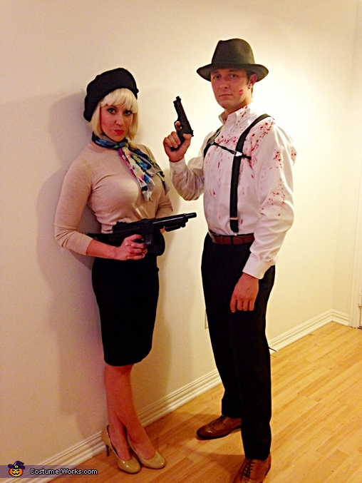 spesso Bonnie & Clyde Costume - Photo 3/5 HN27