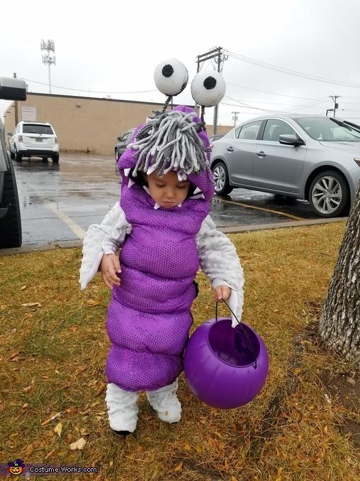 Boo Homemade Costume