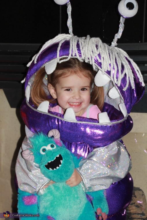 Boo From Monsters Inc Halloween Costume Last Minute Costume Ideas Photo 2 5