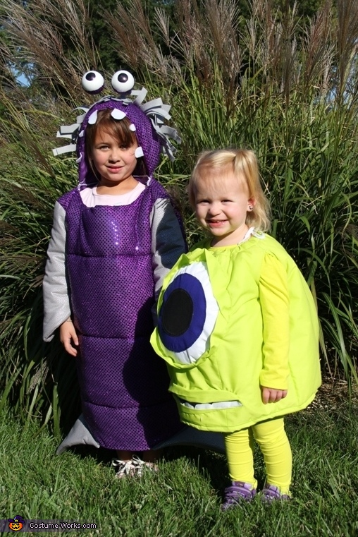Boo and Mike Wazowski Costume