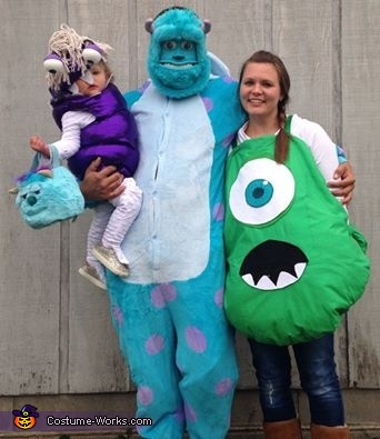 Monsters Inc. Boo Baby Costume DIY