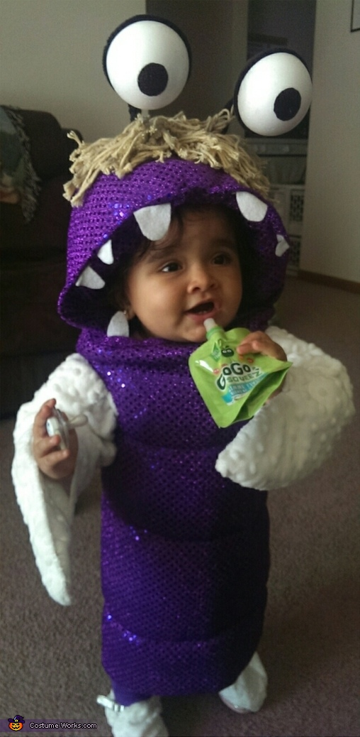 Boo From Monsters Inc Baby Costume