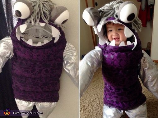 monsters inc boo costume - Monsters Inc Baby Halloween Costumes