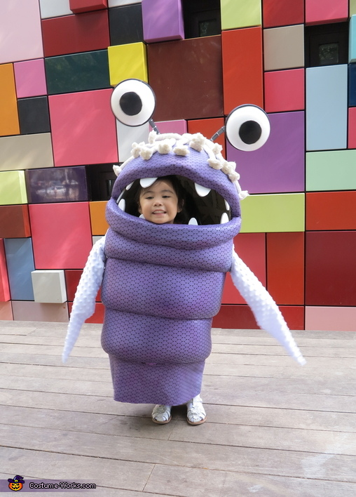 Boo from Monsters Inc. Homemade Costume