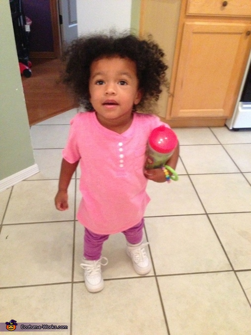 Here's her costume to wear under the costume., Boo from Monsters Inc. Costume