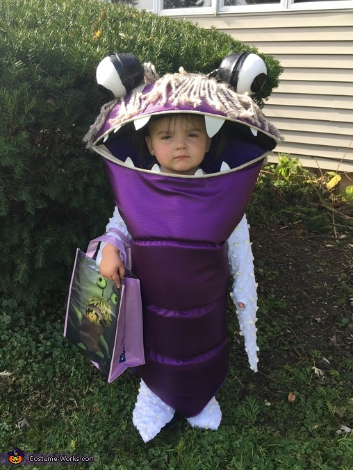 Boo Monsters Inc. Homemade Costume