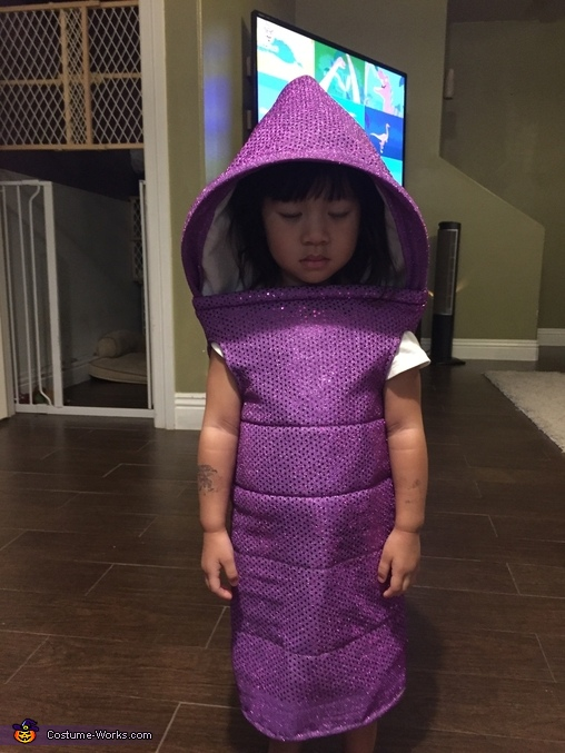 Hood stays open now!, Boo Monsters Inc Costume