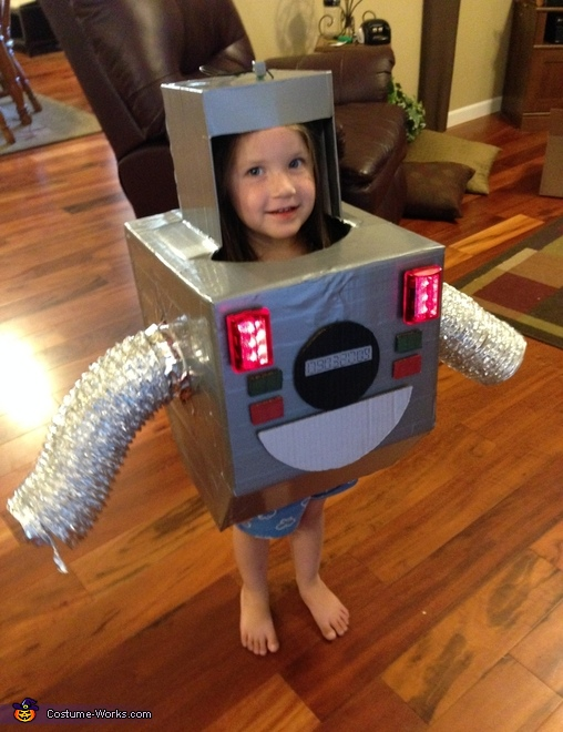 Boogie Bot Costume