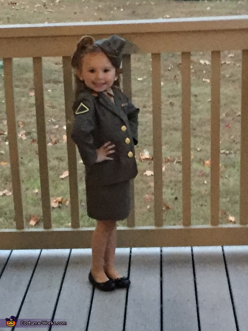 Boogie Woogie Bugle Girl Homemade Costume