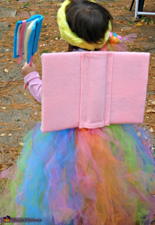Book Fairy - Homemade Costume for Girls