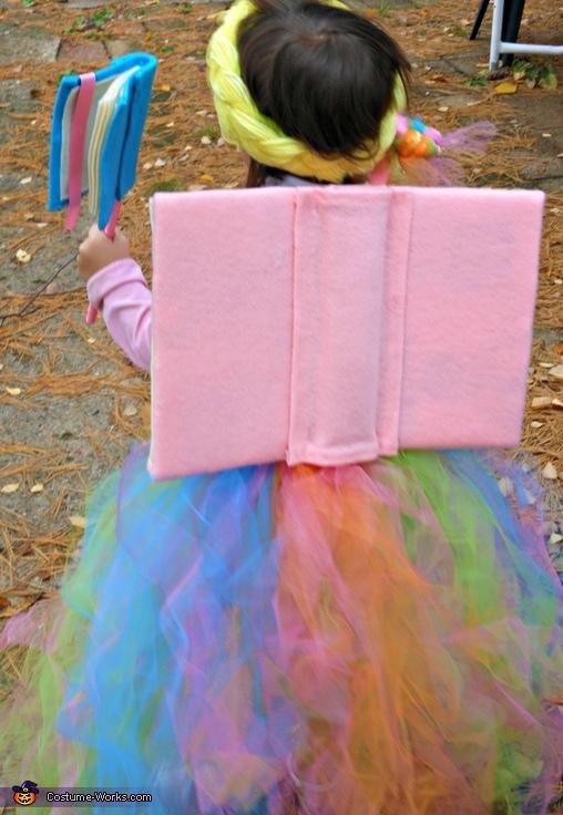 Book Fairy - Homemade Costume for Girls