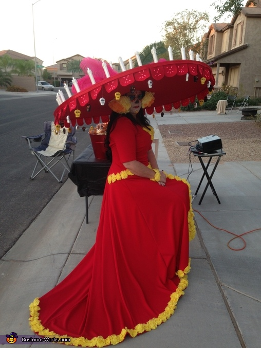 Book of Life La Muerte Adult Costume
