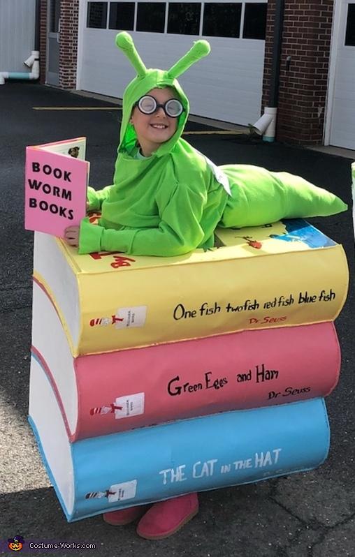 Book Worm Costume