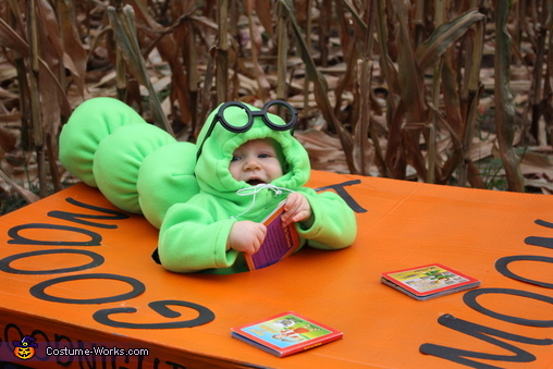 Bookworm Baby Costume