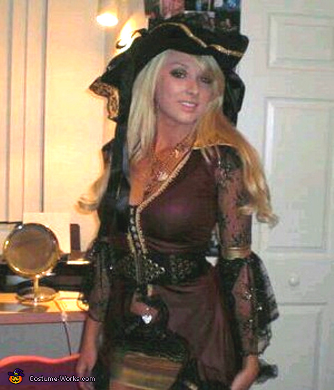 The Booty Pirate Costume