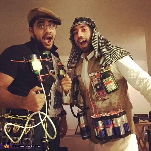 Booze Bombs Costume
