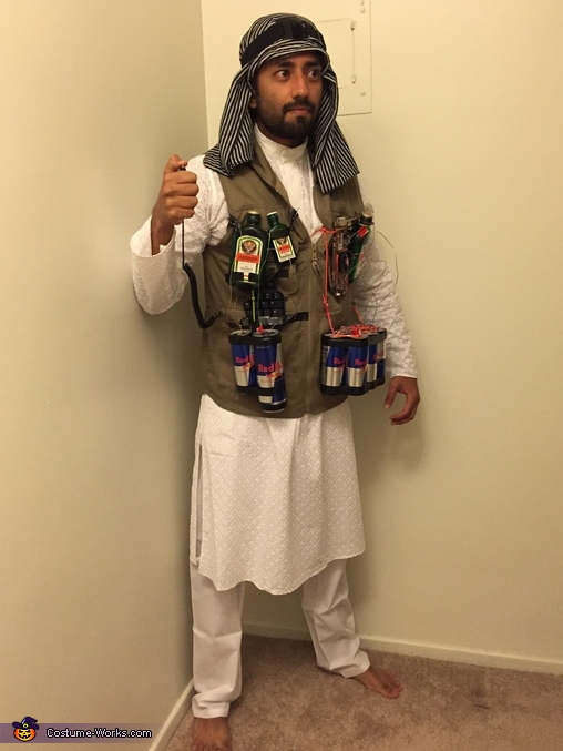 homemade photo book ideas - Booze Bombs Costume 3 4