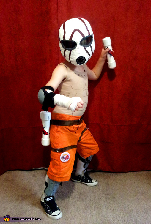 Borderlands Suicide Psycho Midget Costume