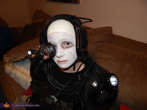 Close up of our Borg!, Borg Costume