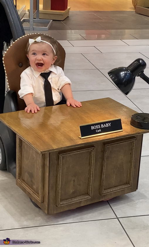 Boss baby in charge, Boss Baby Carli Costume