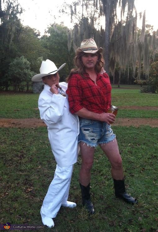 The Dukes of Hazzard Boss Hogg and Daisy Duke Costume