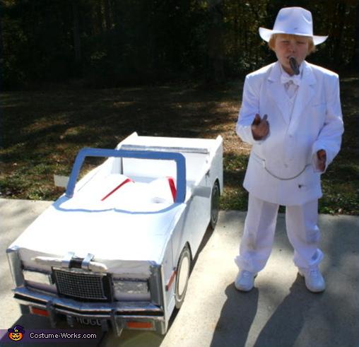 Boss Hogg White Suit The Dukes Of Hazzard Adult Mens Halloween Costume