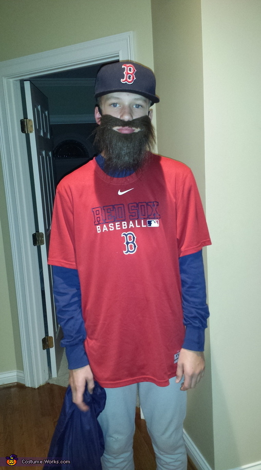 Boston Redsox Player Costume