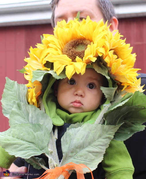 Bouquet of Flowers Baby Costume