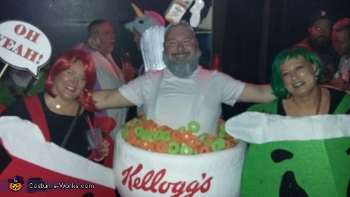 Bowl of Cereal Costume