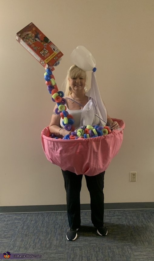 Bowl of Froot Loops Costume