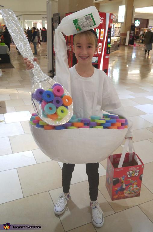 Bowl of Fruit Loops Costume