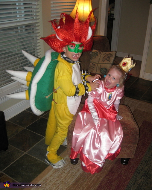 bowser costume