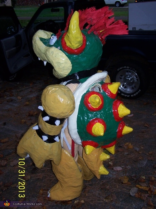 Bowser side, Bowser Costume