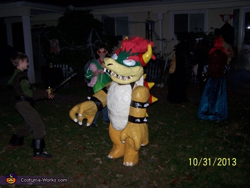Bowser action, Bowser Costume