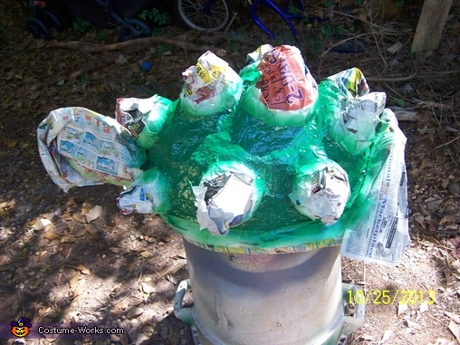 Bowser Shell painting, Bowser Costume