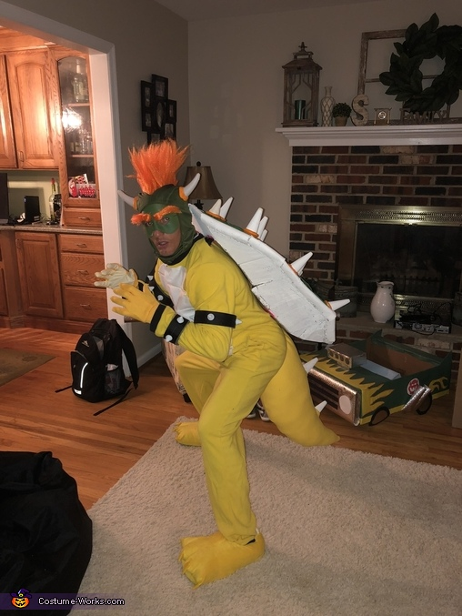 Bowser Homemade Costume