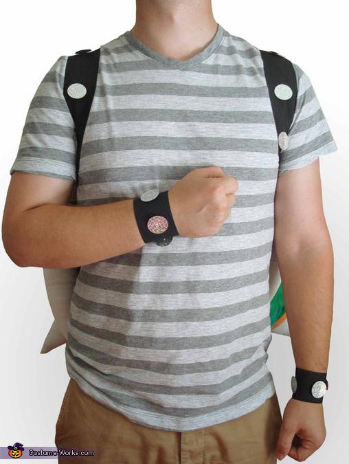 Bowser Costume Bracelets, Bowser Costume