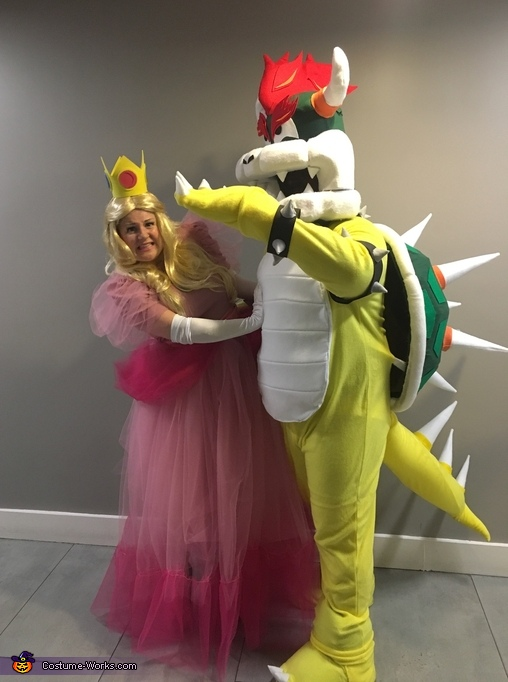 Bowser and Peach Costume